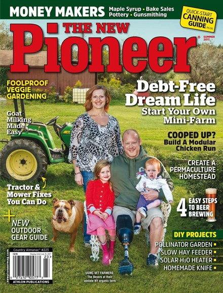 The New Pioneer Cover - 6/1/2017