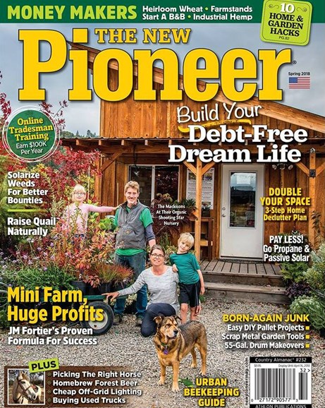 The New Pioneer Cover - 3/1/2018