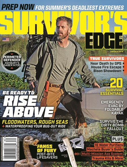 Survivor's Edge Cover - 6/1/2018