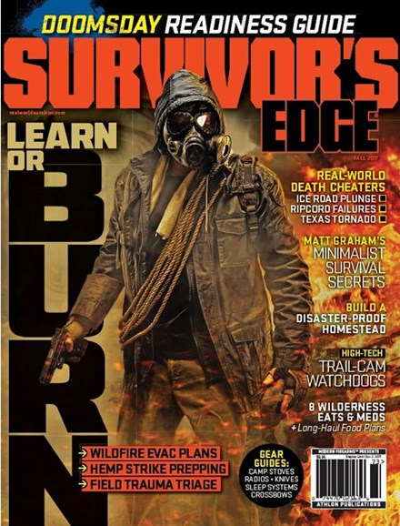 Survivor's Edge Cover - 9/1/2017