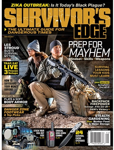 Survivor's Edge Cover - 3/1/2017