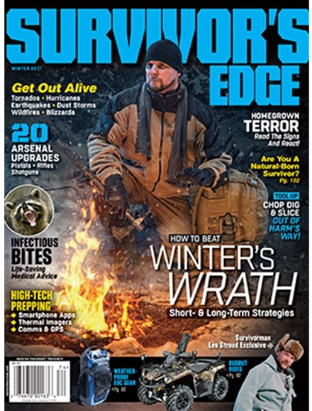 Survivor's Edge Cover - 12/1/2016