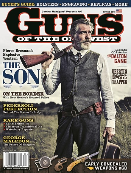 Guns Of The Old West Cover - 3/1/2018