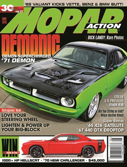 Mopar Action Cover - 6/1/2018