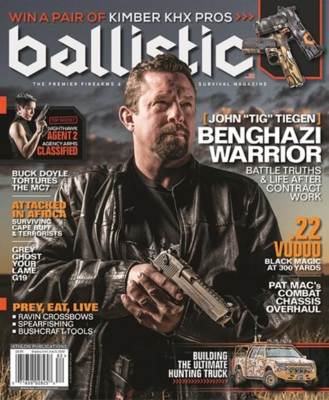 Ballistic Cover - 6/1/2018