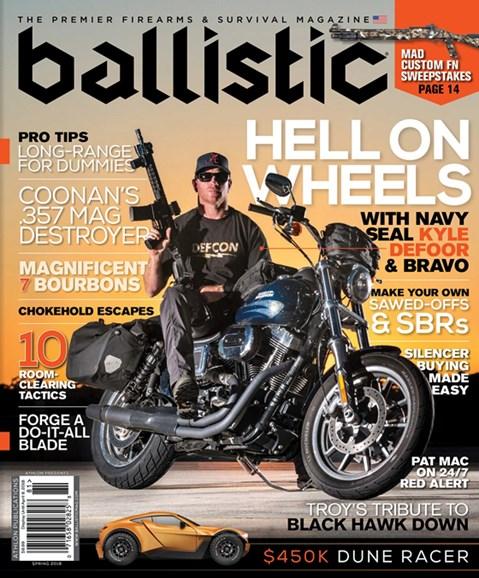 Ballistic Cover - 3/1/2018