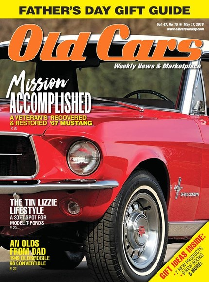 Old Cars Cover - 5/17/2018