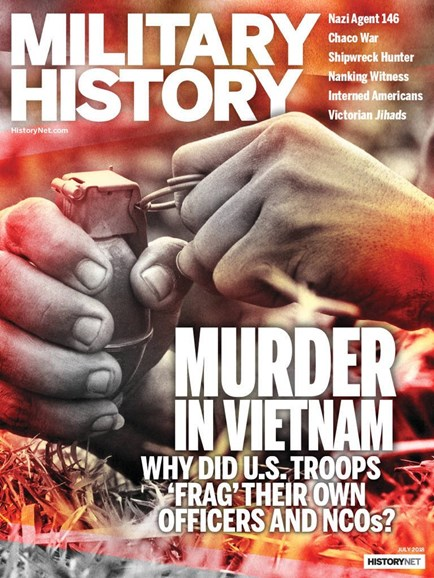 Military History Cover - 7/1/2018
