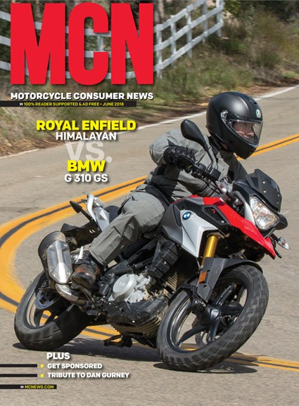 Motorcycle Consumer News Cover - 6/1/2018
