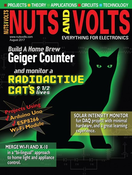 Nuts & Volts Cover - 8/1/2017
