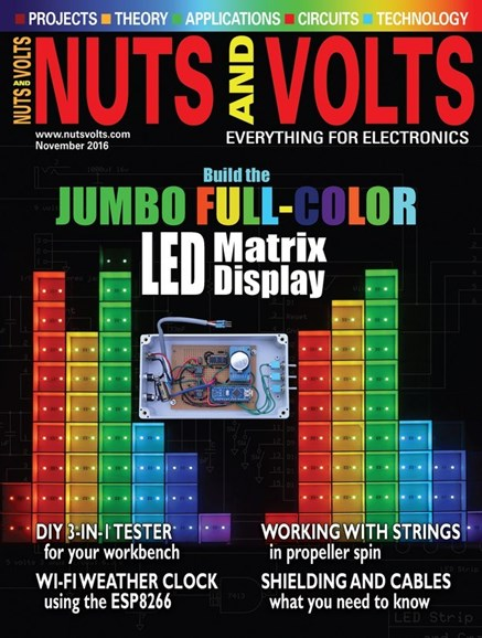 Nuts & Volts Cover - 12/1/2016