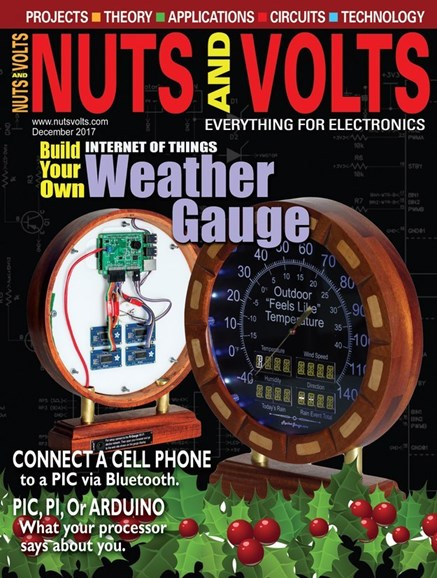 Nuts & Volts Cover - 12/1/2017
