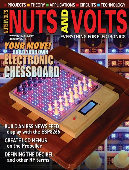 Nuts & Volts Cover - 1/1/2017