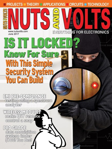 Nuts & Volts Cover - 6/1/2017
