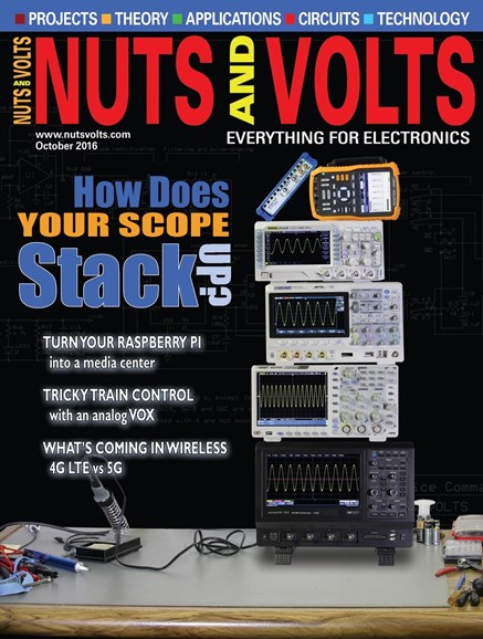 Nuts & Volts Cover - 10/1/2016