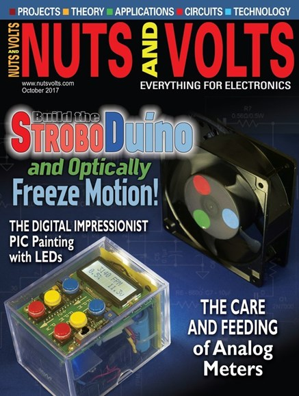 Nuts & Volts Cover - 10/1/2017