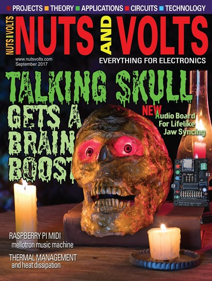 Nuts & Volts Cover - 9/1/2017