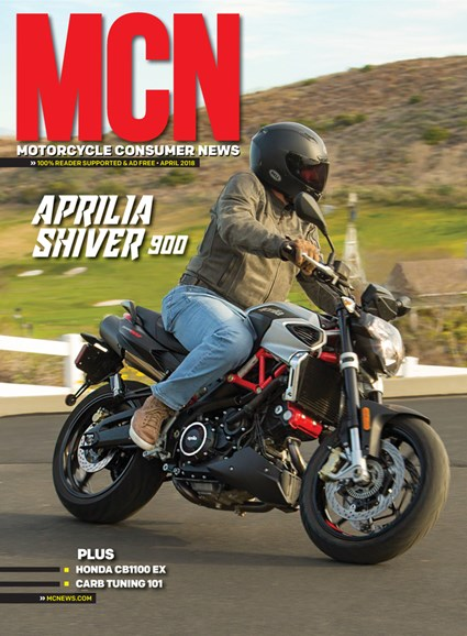 Motorcycle Consumer News Cover - 4/1/2018
