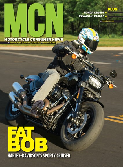 Motorcycle Consumer News Cover - 2/1/2018