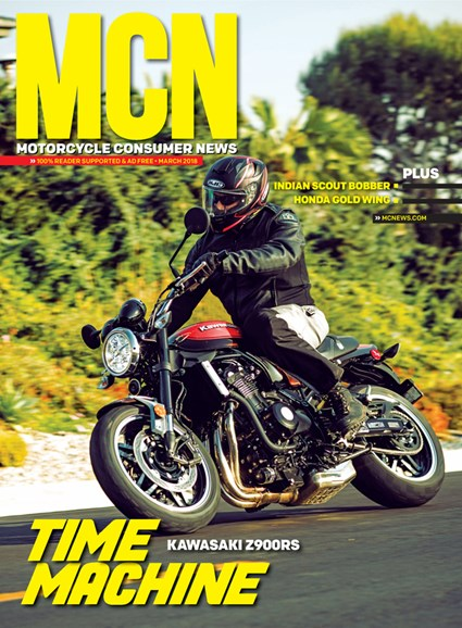 Motorcycle Consumer News Cover - 3/1/2018