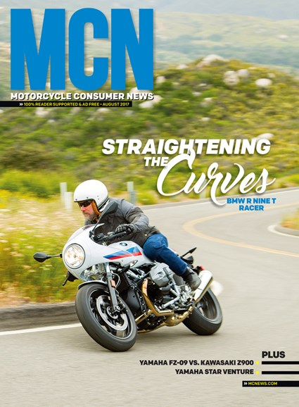 Motorcycle Consumer News Cover - 8/1/2017