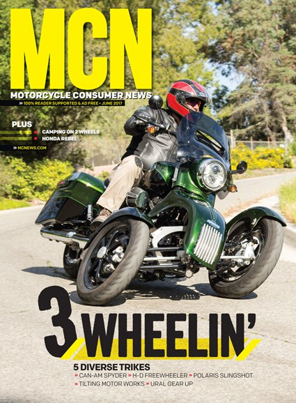 Motorcycle Consumer News Cover - 6/1/2017