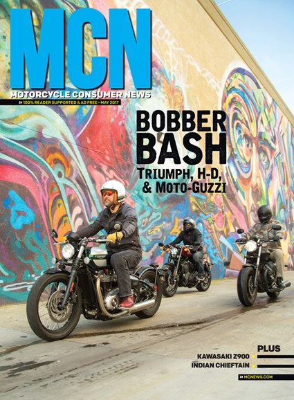 Motorcycle Consumer News Cover - 5/1/2017