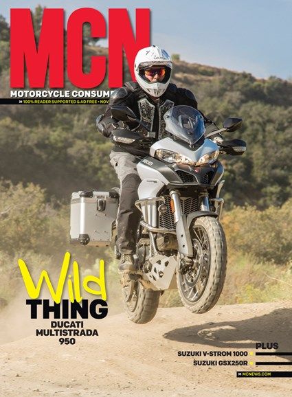 Motorcycle Consumer News Cover - 11/1/2017
