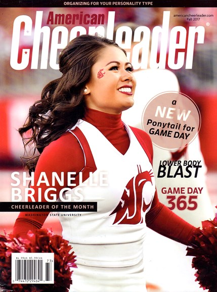 American Cheerleader Cover - 9/1/2017