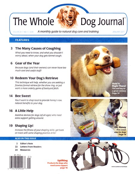 Whole Dog Journal Cover - 1/1/2017