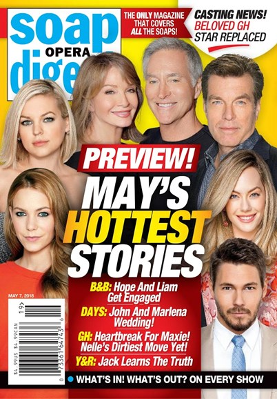 Soap Opera Digest Cover - 5/7/2018