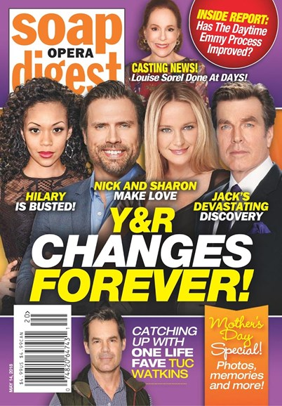 Soap Opera Digest Cover - 5/14/2018