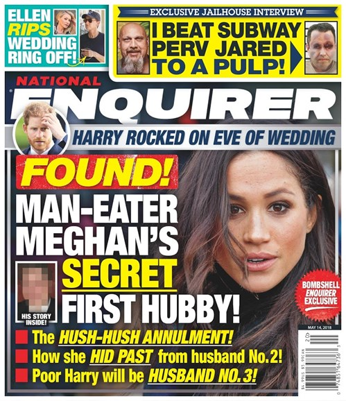 National Enquirer Cover - 5/14/2018