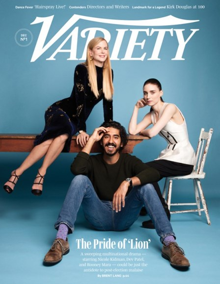 Variety Cover - 12/1/2016