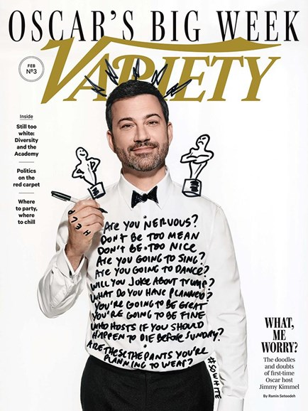 Variety Cover - 2/21/2017