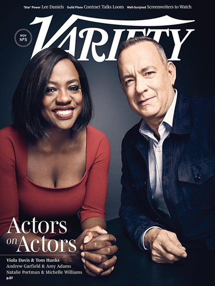 Variety Cover - 11/29/2016