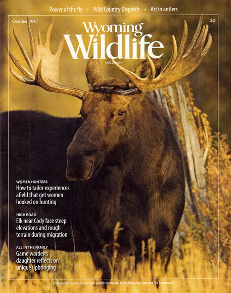 Wyoming Wildlife Cover - 10/1/2017