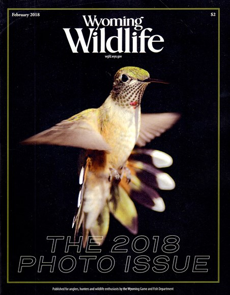 Wyoming Wildlife Cover - 2/1/2018
