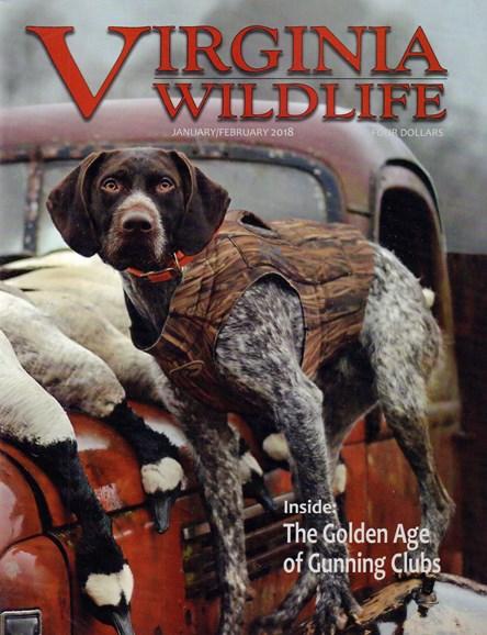 Virginia Wildlife Cover - 1/1/2018