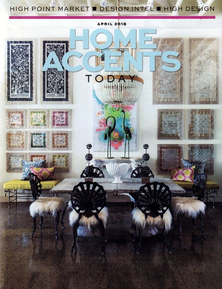 Home Accents Today Cover - 4/1/2018