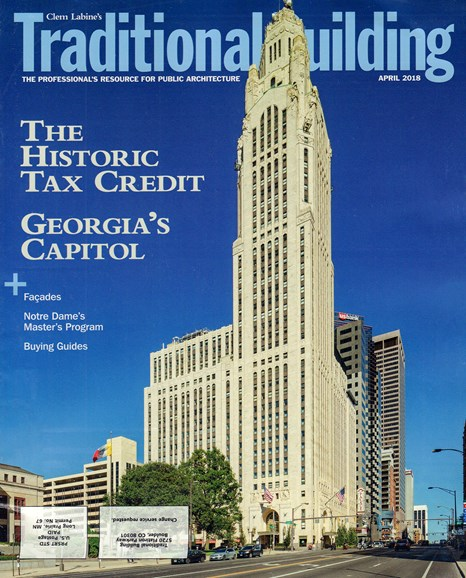 Traditional Building Cover - 4/1/2018
