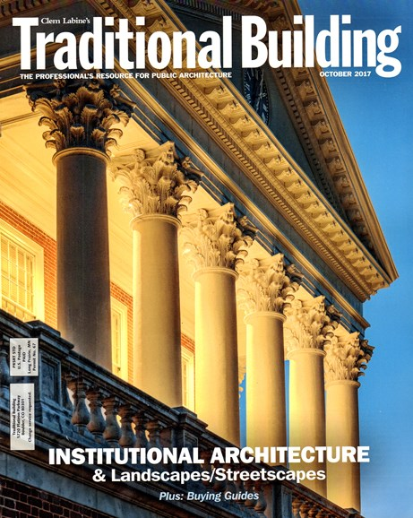 Traditional Building Cover - 10/1/2017