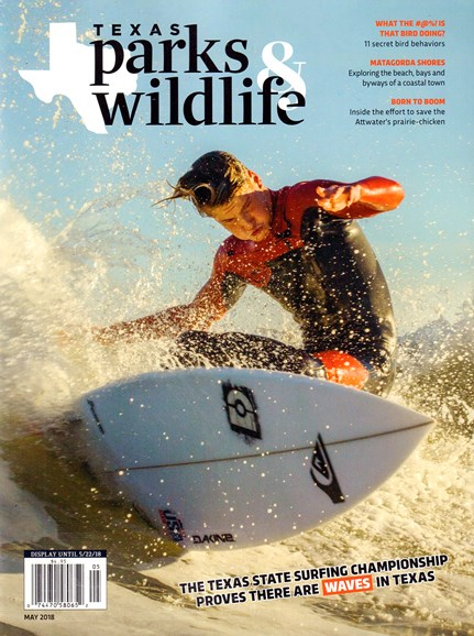 Texas Parks & Wildlife Cover - 5/1/2018
