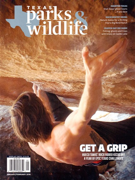 Texas Parks & Wildlife Cover - 1/1/2018