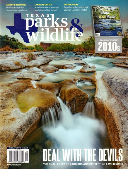 Texas Parks & Wildlife Cover - 11/1/2017
