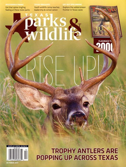 Texas Parks & Wildlife Cover - 10/1/2017
