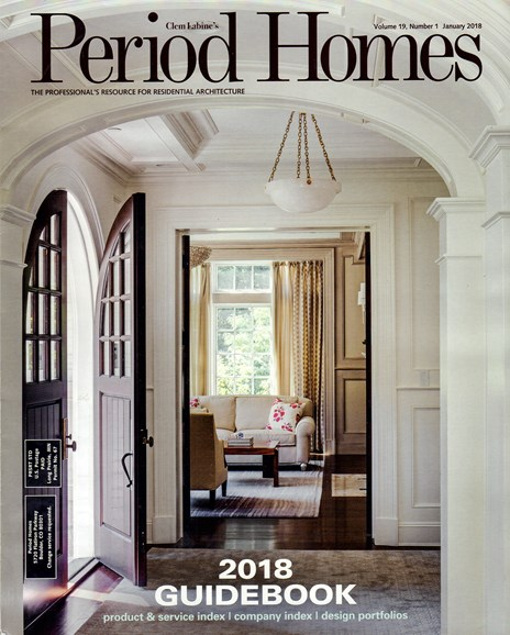 Period Homes Cover - 1/1/2018