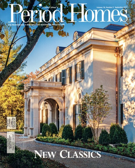 Period Homes Cover - 9/1/2017