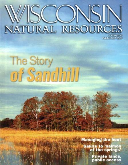 Wisconsin Natural Resources Cover - 10/1/2017