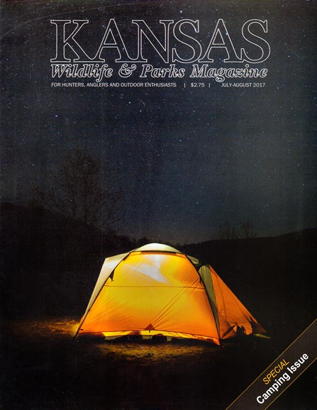 Kansas Wildlife & Parks Cover - 7/1/2017